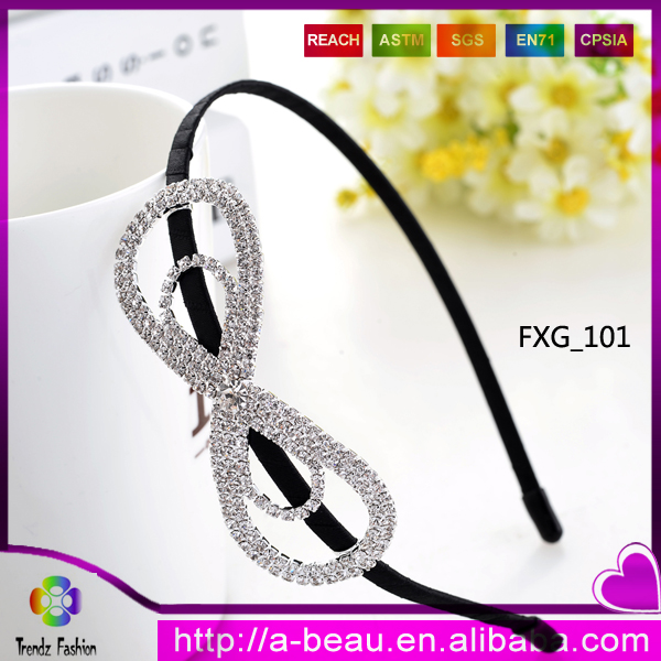 New 2016 Fashion Hair Accessories With Crystal Stone FXG_<strong>101</strong>