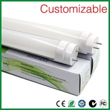 3 years warranty 18w 4 feet 1200mm t8 led tube lamp with ce/rohs