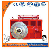 Extruder gearbox of zlyj series for plastic tape drawing machine