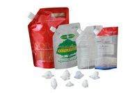 Plastic Packaging Material and Automatic Automatic Grade stand up pouch packing for aseptic milk