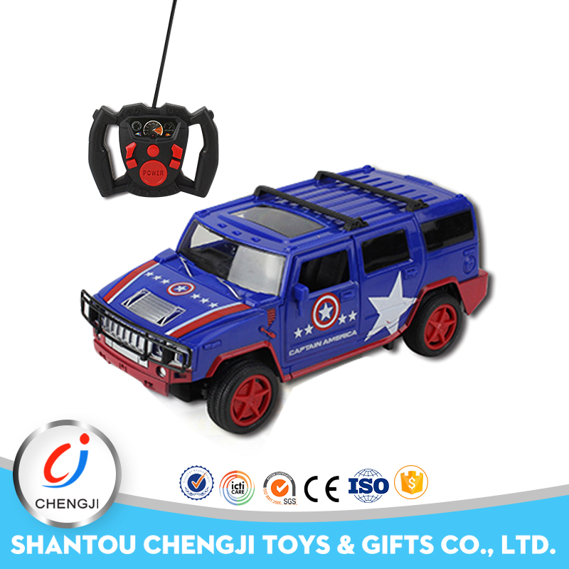 Hot selling climb new cheap electric toy plastic blue joystick radio remote control car