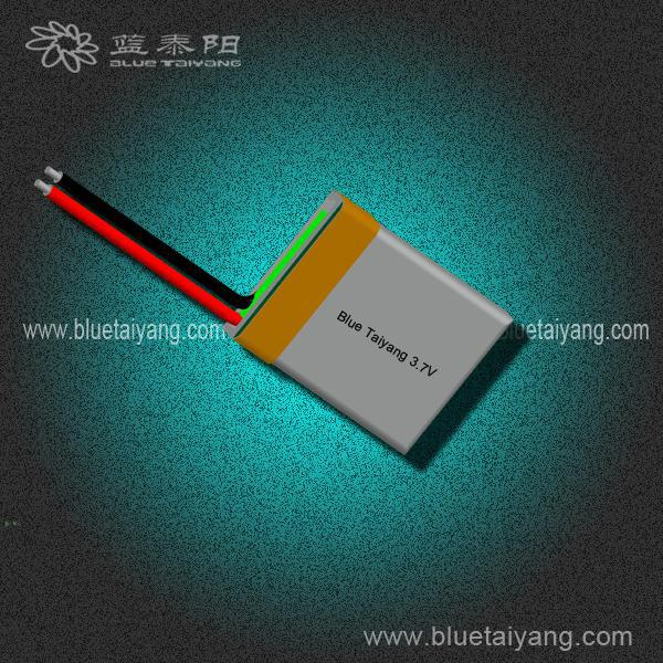 Hot selling 401521 72mAh lithium batteries flat