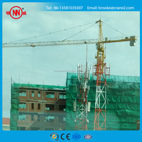 Used Tower crane TC5008 with Max Load 4t and Jib 50m