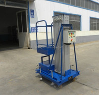 100kg 6m Hydraulic vertical personnel aerial work lift
