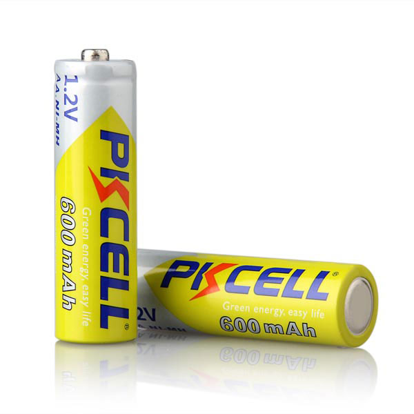 1000 times cycle life 1.2v aa ni-mh nimh sc rechargeable pencil battery 600mAh for toys,