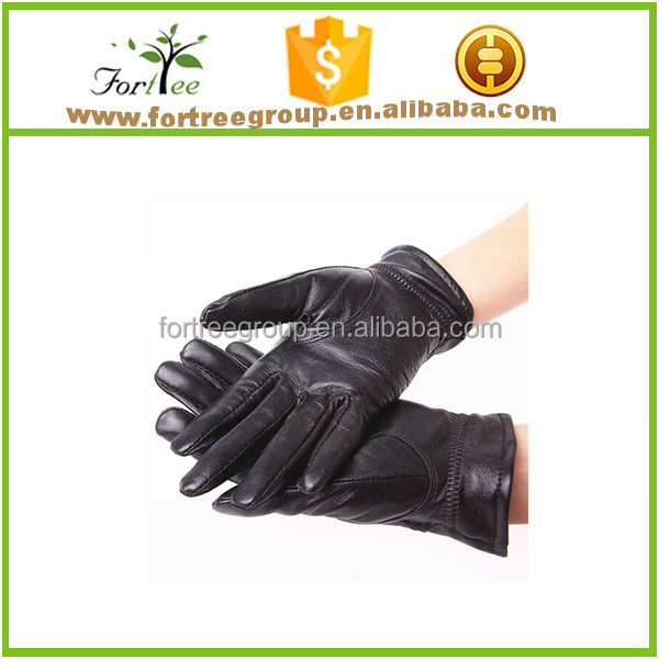 fashion deerskin mens cheap leather gloves