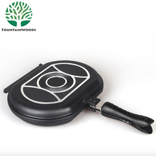 Best Selling Unstick Happy Call Nonstick Die Casting Aluminum Double Sided Frying Pan