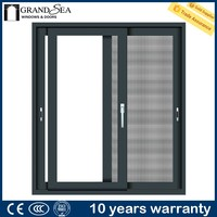 China good price of aluminium sliding window factory with 12 years experience