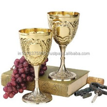 WINE GOBLET. Cheap Wholesale Water Goblet Glass , METAL WINE GOBLET , METAL WINE GOBLET .