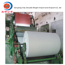 toilet tissue paper making machine, toilet tissue/ napkin paper production line for paper plant