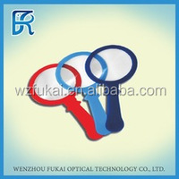 4X TH-F68 PVC handle fresnel magnifying glass