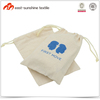 Screen Printed Cotton Drawstring Bag with Logo