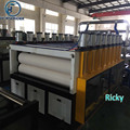 Top quality factory price 1220mm width PVC WPC foam board making machine/ plastic celuka board extruding equipment