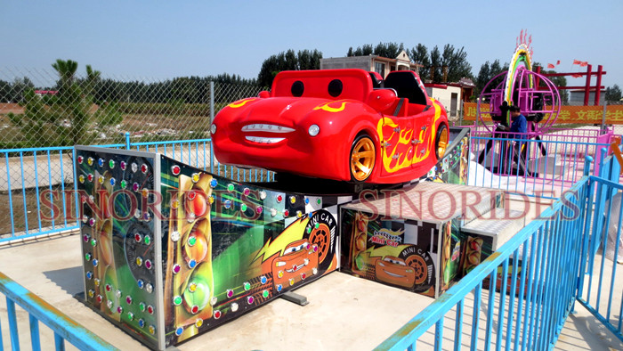 Outdoor Amusement Park Rides Flying Car Games for Children and Adults