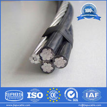 Quadplex Overhead Cable, XLPE / PVC Insulated, Direct Factory Supply