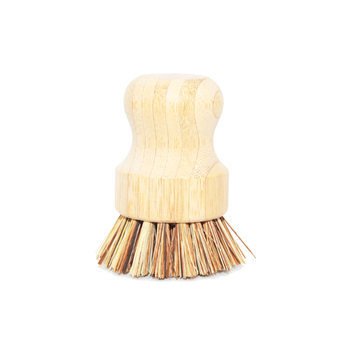 natural Palmae bamboo cleaning brush dish washing brush
