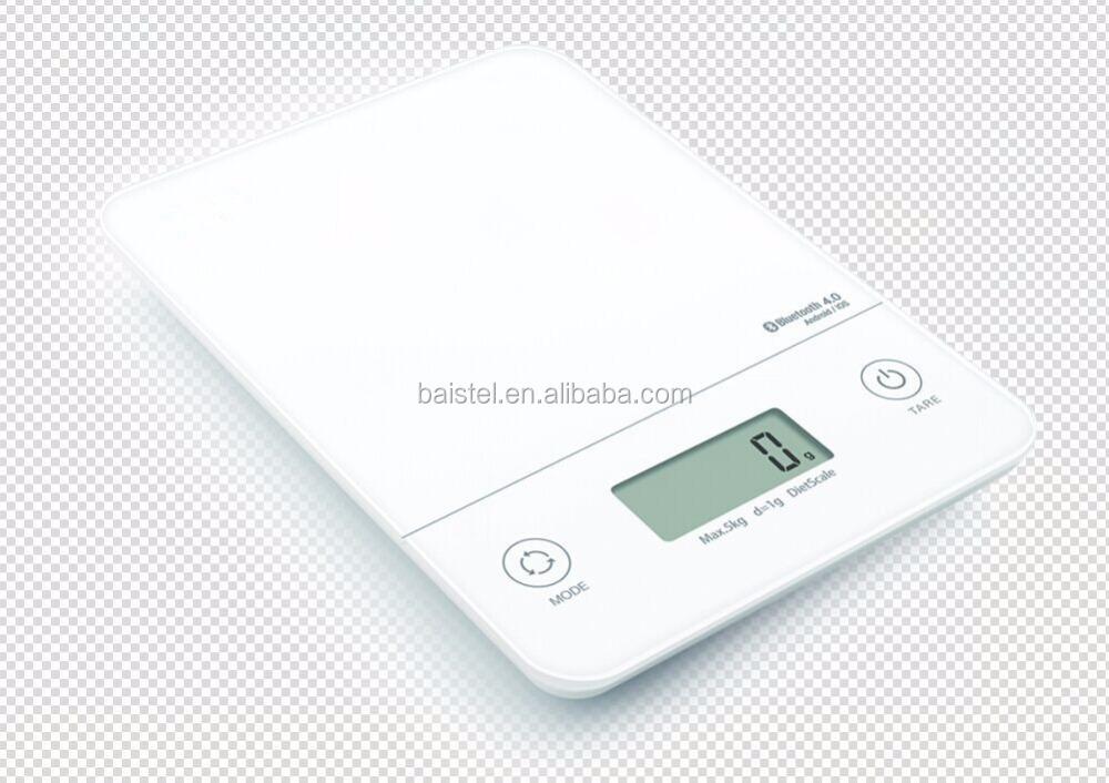New bluetooth kitchen scale 5kg 1g digital food scale with for Bluetooth kitchen scale