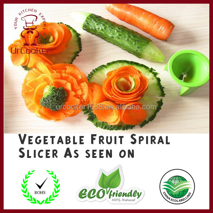 High quality Spiral Slicer manual fruit slicer food slicer as seen on TV
