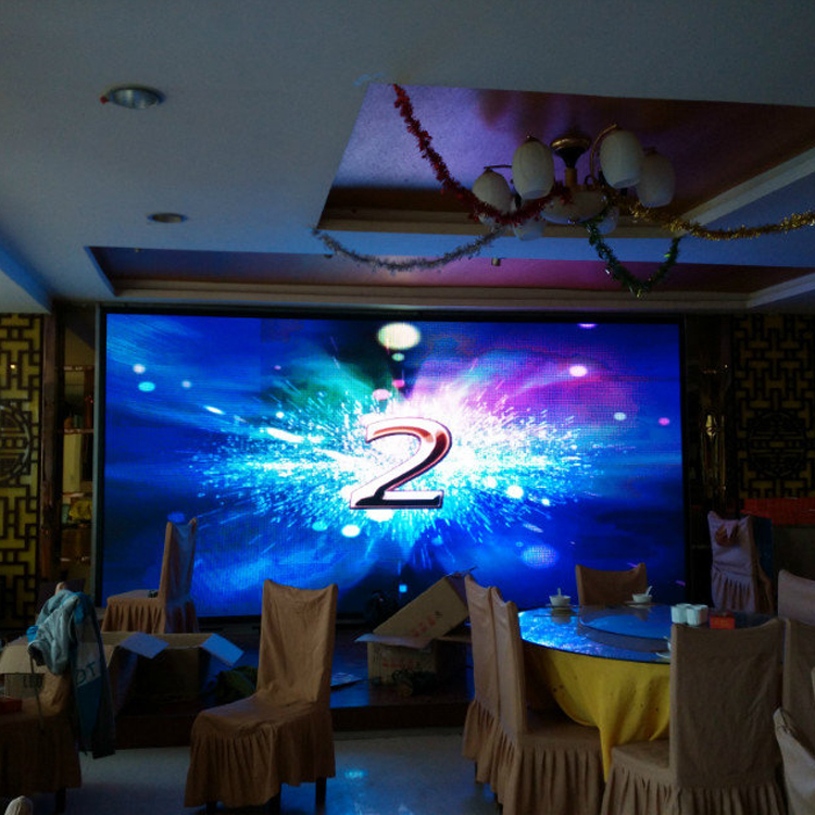 HD-P3 Full Color Indoor LED Display Screen/P3 LED Screen For Wedding Stage Decoration