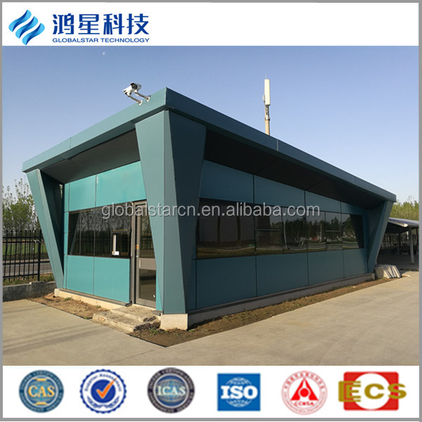 Beautiful and modern prefab steel structure small house