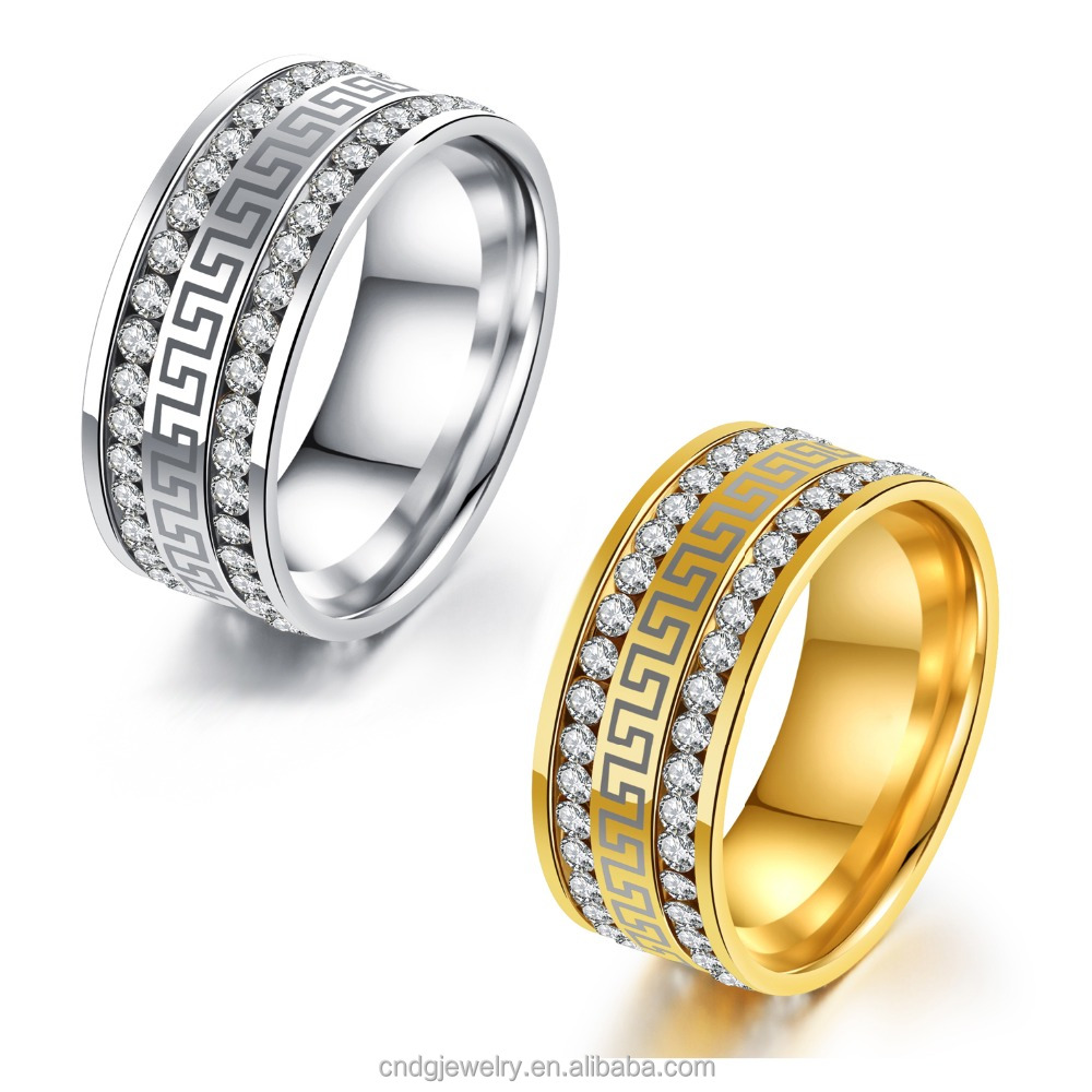 Import Jewelry From China Jewelry Ring Saudi Gold Jewelry Ring Couple CZ Ring