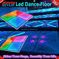 Dj Equipment New Effect Led Acrylic Dance Floor/portable Led Dance Floors China Supplier