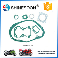 Motorcycle parts motorcycle gasket set for AX100