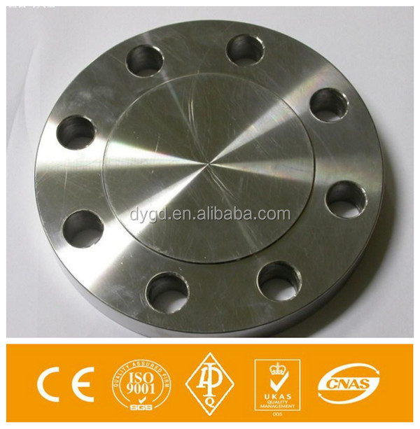 DIN A105 Carbon Steel Blind Flange Cover Pipe Fitting