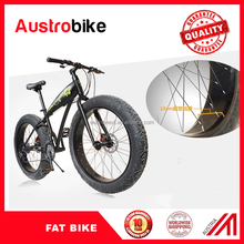 China manufacture aluminum frame 27s big tire with fat tire bike with Austria designing