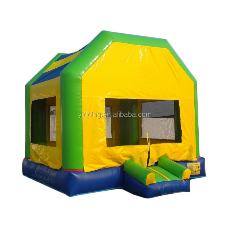 Inflatable bouncy castle, inflatable jumping bouncer with cover B1009