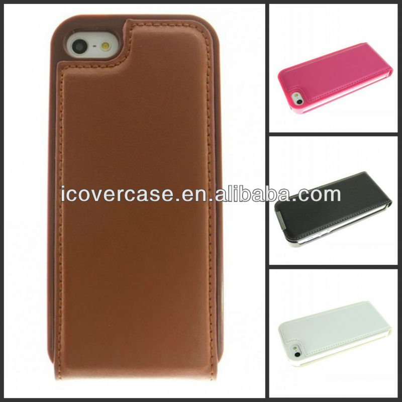 new unique design genuine leather mobilephone case for iphone 5 5g
