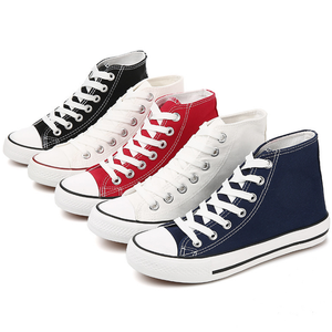 Fashion lace shoes women/man lover casual woman custom new flat canvas shoes