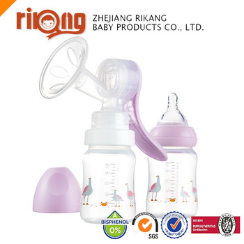 Manual Hand Grasp Type silicone Breast milk Pump