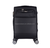 "High quality 3pcs baggage 20""24""28"" spinner wheel cheap suitcases luggage wholesale nylon luggage bag travel trolley"
