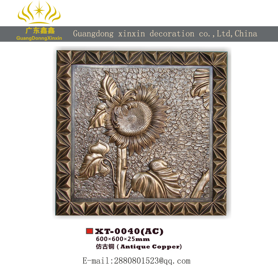 Eco-friendly Pu Exquisite Wall Plaques