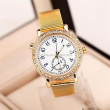 Luxuy ladies crystal watches, Fashion quartz wrist watch, vogue watch