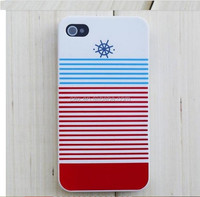 Wholesale - Hot Navy Snap on Cellphone Case Cover for iPhone 4 4G