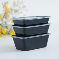 unique quality food grade microwave safe plastic containers with lids