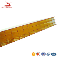 Multi-wall hollow 3mm polycarbonate sheet