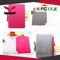 Magnetic Smart Slim Full Body Cover for Ipad 2/3/4 Pink for Ipad Smart Cover Pink