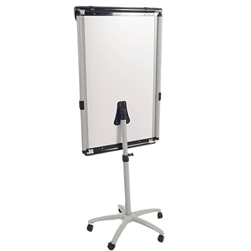 Viz-pro Dolphin Magnetic Mobile Whiteboard/flipchart Easel 28 X 40 Inches
