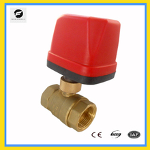 NPT CWX-50K AC24V AC220V electric ball valve Heating &cooling HAVC system,Water cooling bleed system