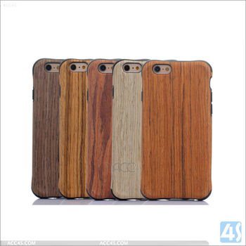 TPU wood case for Iphone 6, shockproof wood case for Iphone 6s, for Iphone 6+ wood case
