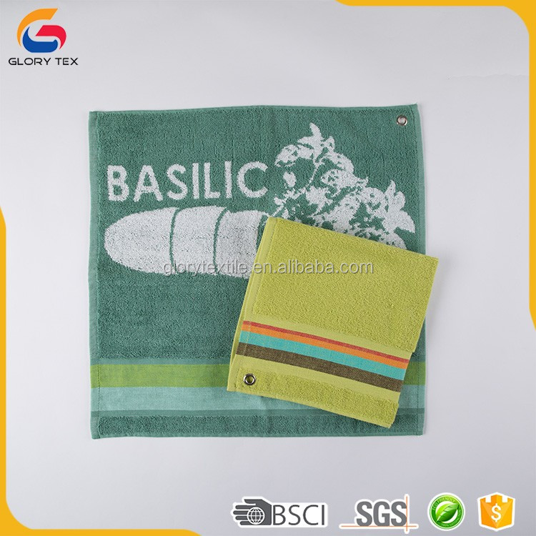 Professional factory supply cotton holiday kitchen towels