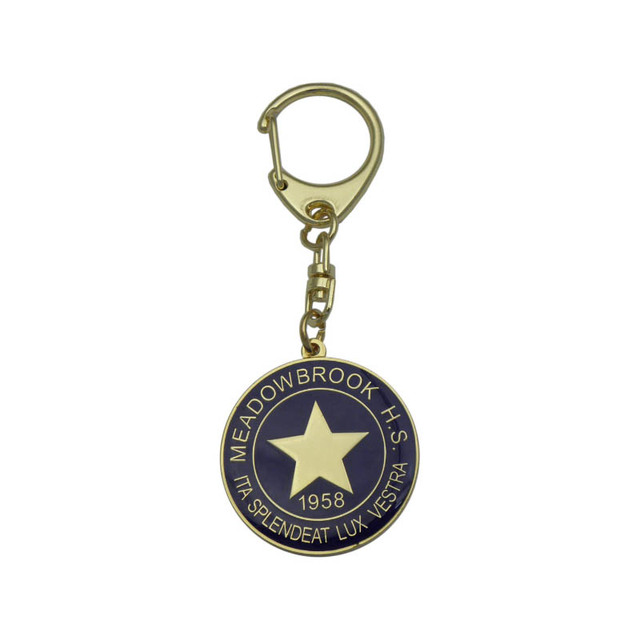 Promotional giveaways metal piano key chain colourful mustic keychain with jewelry