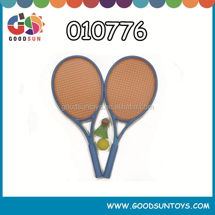 Tennis racket for children with ball