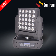 High power disco light matrix 4in1 rgbw moving head led
