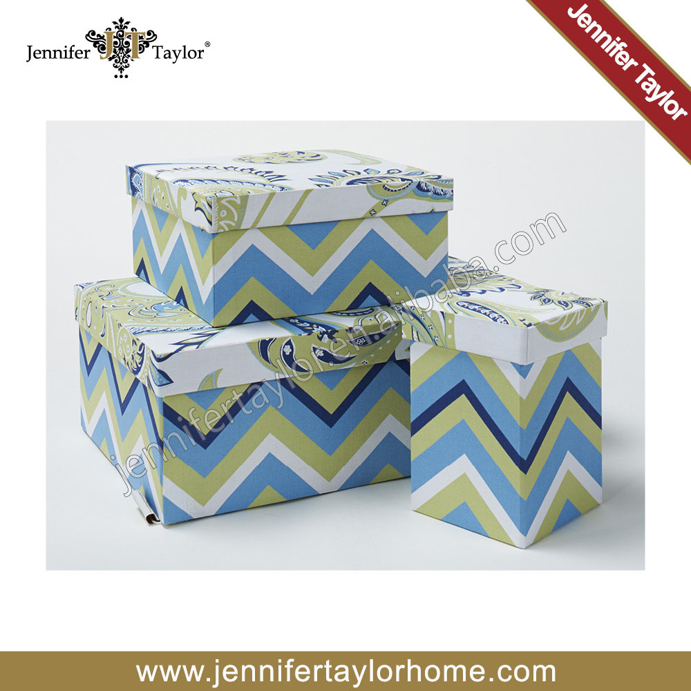Decorative home storage organization under bed gift box