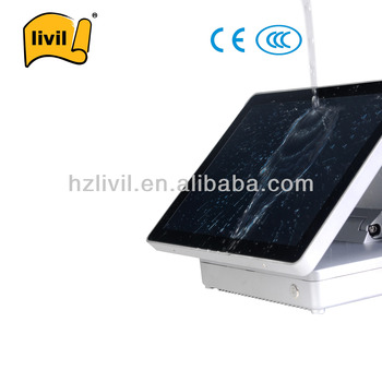 2014 Hot Hypermarket capacity touch screen King POS POS system