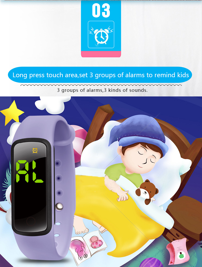 Baby Reminder Watch for Toilet Potty Training Water Resistant Toddler Timer Watches